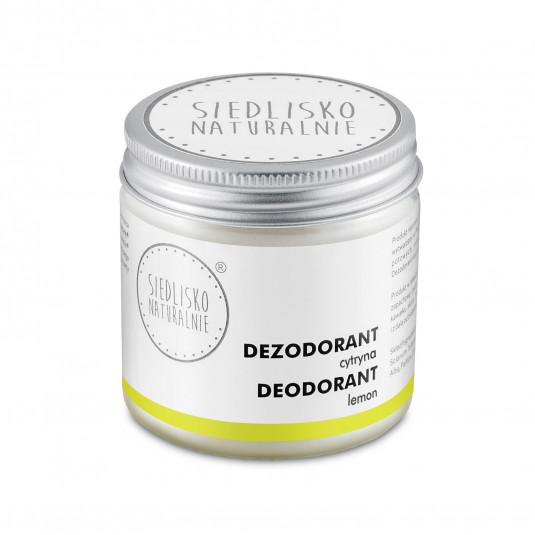 Dezodorant / antyperspirant w kremie - Cytryna