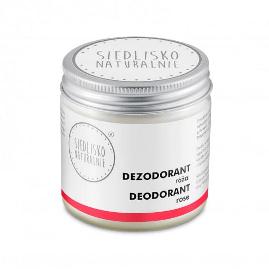 Dezodorant / antyperspirant w kremie - Róża
