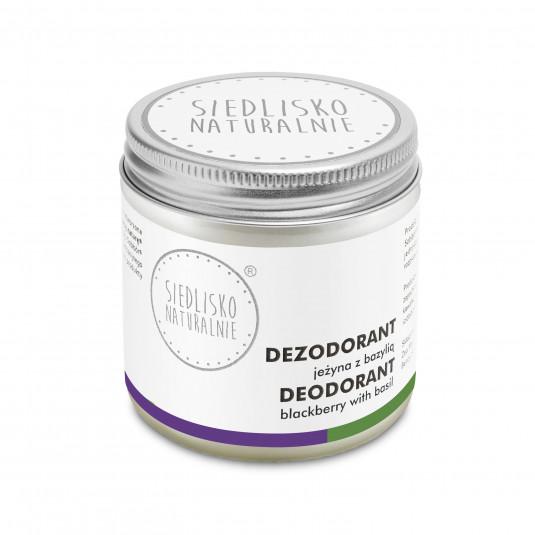 Dezodorant / antyperspirant w kremie - Jeżyna z bazylią