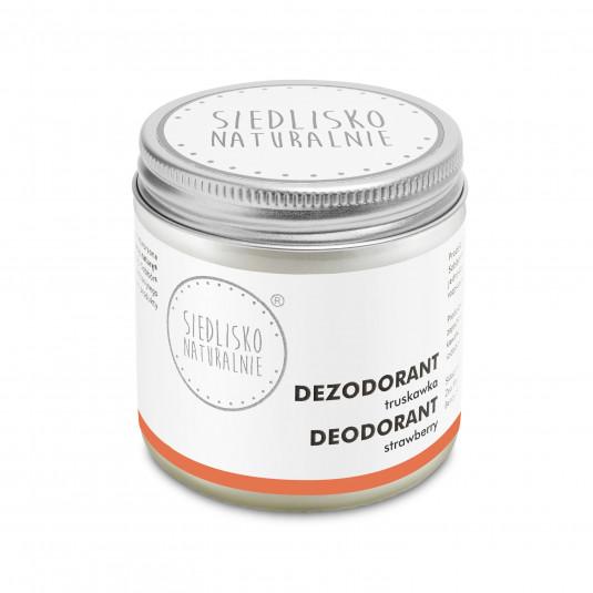 Dezodorant / antyperspirant w kremie - Truskawka